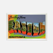 Easton Pennsylvania Greetings Rectangle Magnet