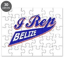 I rep Belize Puzzle