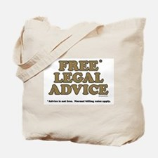 Free Legal Advice (2) Tote Bag