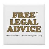 Funny law school Drink Coasters