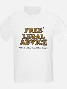 Free Legal Advice (2) Kids T-Shirt