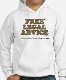 Free Legal Advice (2) Hoodie