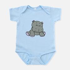 Hippo Baby Infant Bodysuit