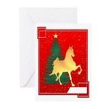 American saddlebred Greeting Cards (10 Pack)