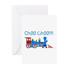choo choo! Greeting Card
