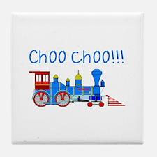 choo choo! Tile Coaster