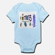 Tax and Taxes Body Suit