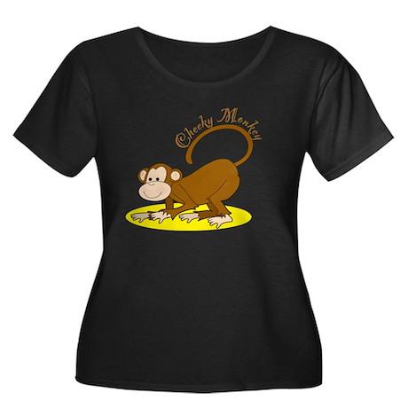 monkey_crawling2 Plus Size T-Shirt
