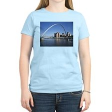 Millennium Bridge, Newcastle upon Tyne T-Shirt