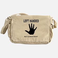 LEFT HANDED Messenger Bag