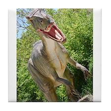 T-Rex Dinosaur Tile Coaster