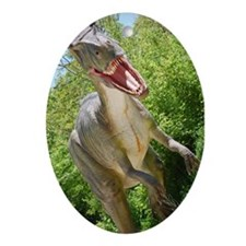 Dinosaurs Ornament (Oval)