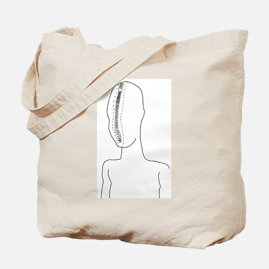 zipperhead2 Tote Bag