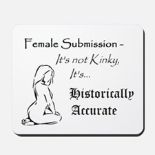 Female Submission is Historically Accurate Mousepa
