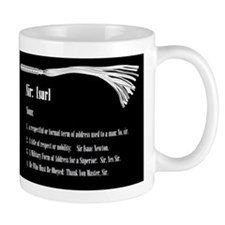 Sir by Definition - Male Dominant Design Mug