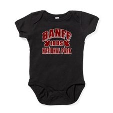 2-Banff NP Old Style Red.png Baby Bodysuit