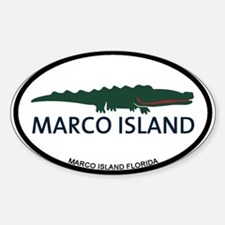 Marco Island - Alligator Design. Decal