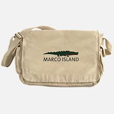 Marco Island - Alligator Design. Messenger Bag
