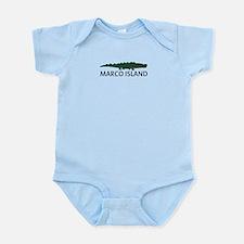 Marco Island - Alligator Design. Infant Bodysuit
