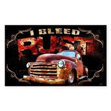 I Bleed Rust Decal
