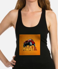Moab Red Racerback Tank Top