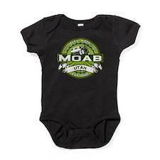 Moab Logo Green Baby Bodysuit