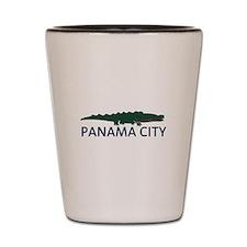 Panama City - Alligator Design. Shot Glass