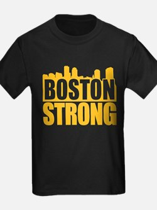 Boston Strong Gold T-Shirt