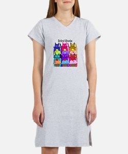 Retired Librarian Women's Nightshirt