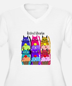 Retired Librarian Plus Size T-Shirt