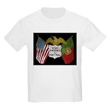 Viva Portugal e America  Kids T-Shirt