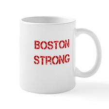 Red Grunge Boston Strong Mug
