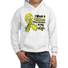 Ribbon Hero Testicular Cancer Jumper Hoody