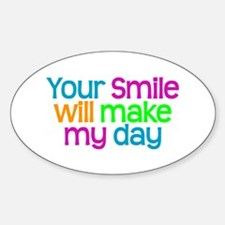 YOUR SMILE - Oval Decal