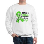 Ribbon Hero Non-Hodgkins Sweatshirt