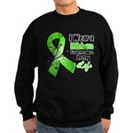 Ribbon Hero Non-Hodgkins Sweatshirt (dark)