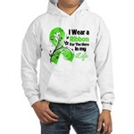 Ribbon Hero Non-Hodgkins Hooded Sweatshirt