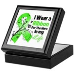 Ribbon Hero Non-Hodgkins Keepsake Box