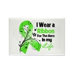 Ribbon Hero Non-Hodgkins Rectangle Magnet (100 pac