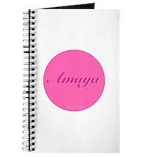 Amaya Button Journal