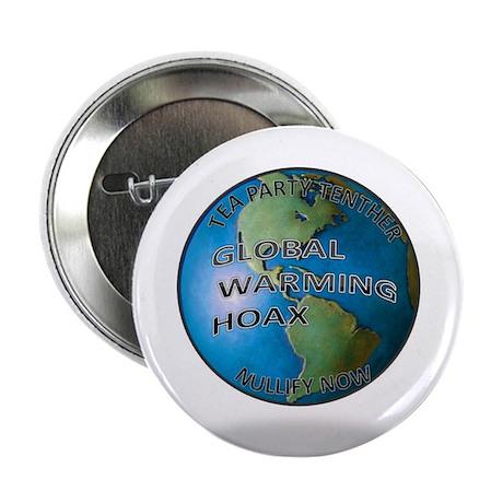 "Global warming hoax 2.25"" Button"