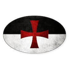 Templar Flag Decal