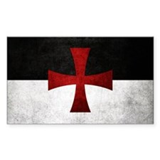 Templar Flag Decal
