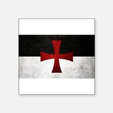 Templar Flag Sticker