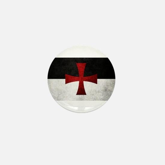 Templar Flag Mini Button