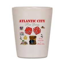 ON THE ATLANTIC CITY BOARDWALK. Shot Glass