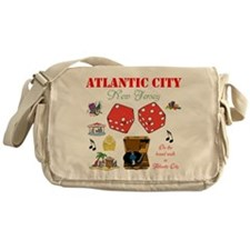 ON THE ATLANTIC CITY BOARDWALK. Messenger Bag