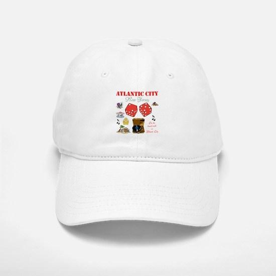 ON THE ATLANTIC CITY BOARDWALK. Baseball Baseball Cap