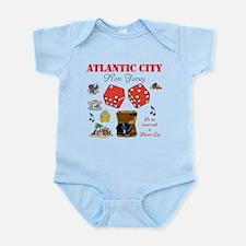 ON THE ATLANTIC CITY BOARDWALK. Infant Bodysuit
