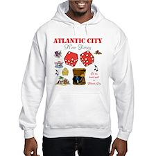 ON THE ATLANTIC CITY BOARDWALK. Hoodie